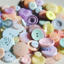 Pastels - Colour Collection Buttons 50g