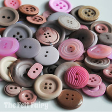 Mushroom Blush - Colour Collection Buttons 50g