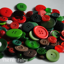 Christmas Pudding - Colour Collection Buttons 50g