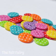 Rainbow Spots - Colour Collection Buttons