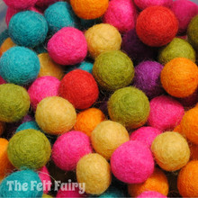 Bright Felt Ball Collection