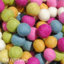 Spring - Felt Ball Colour Collection