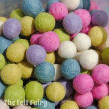 Pastels - Felt Ball Colour Collection
