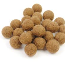 Chocolate Felt Balls