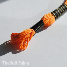 Tangerine Embroidery Thread
