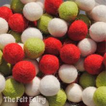 Christmas - Felt Ball Colour Collection