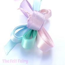 Satin Ribbon Bundle - Pastel Shades (7mm)