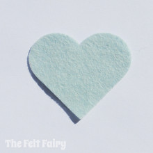 Duck Egg Felt Square - Wool Blend Felt