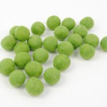 Grass Green Felt Balls