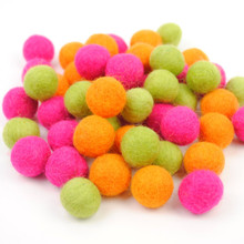 Tropical Felt Ball Collection