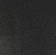 Black Glitter Felt - 23cm x 30cm