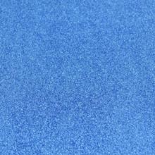 Blue Glitter Felt - 23cm x 30cm