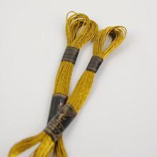 Metallic Gold Embroidery Thread - 8 metre skein