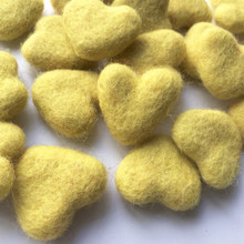 Sherbet Wool Felted Heart