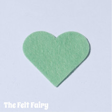 Wood Sorrel Felt Square - Wool Blend Felt