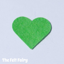 Spearmint Felt Square