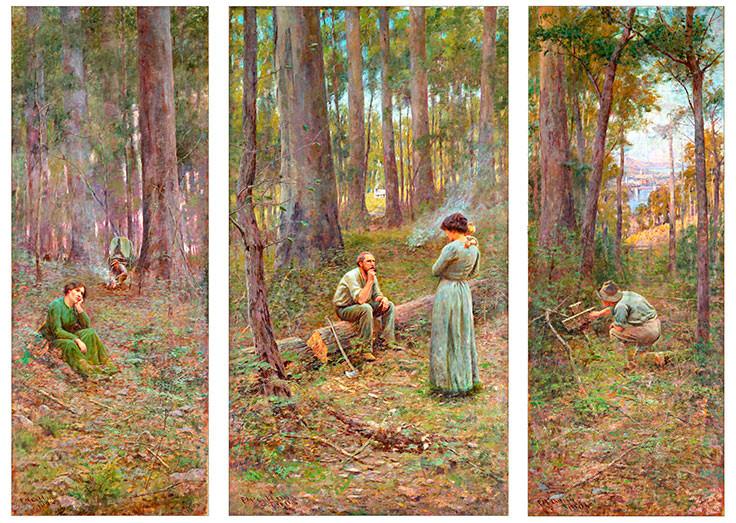 the pioneer by frederick mccubbin Find great deals on ebay for frederick mccubbin prints shop with confidence  frederick mccubbin - the pioneer, museum australian art poster, canvas print.