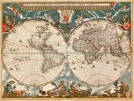 World Map 1664