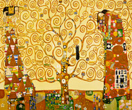 The Tree of Life by Gustav Klimt Expressionist Print