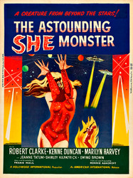 She The Astounding Monster
