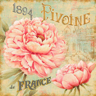 Concours Floral II Beige
