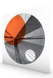 Anzac Orange Stretched Canvas