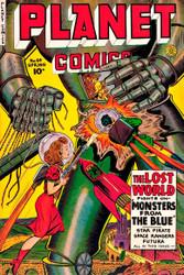Planet Comics 64 1950