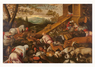 Animals Boarding Noahs Ark
