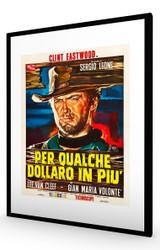 For A Few Dollars More 1965 (Italian) Black Frame