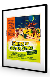 Queen of Outer Space 1958 Black Frame