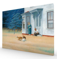 Cape Cod Evening Stretched Canvas