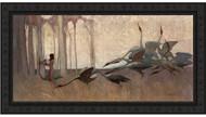 Spirit of the Plains Black Ornate Frame