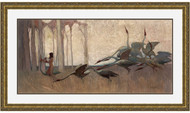 Spirit of the Plains Gold Leaf WB Frame