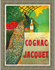 Cognac Jacquet Silver Ornate Frame