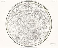 Jamieson Celestial Atlas Plate 28 1822 Map