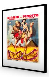 Abbott and Costello Meet the Mummy 1955 Black Frame