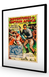 Adventures of Captain Africa 1955 Black Frame