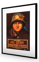 All Quiet on the Western Front 1930 Black Frame
