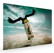 Dreams Are Never Real by Ben Goossens Stretched Canvas