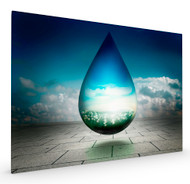 Drops of Prosperity II by Ben Goossens Stretched Canvas
