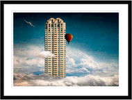 Extreme Skyscraper by Ben Goossens Framed