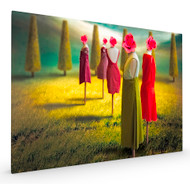 Garden Beauties Stretched Canvas