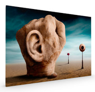 Grab the Power of Communication Stretched Canvas