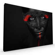 Dark Passion Stretched Canvas