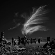 Mono Lake's Tufa Cathedral Print, Canvas or Stretched Canvas