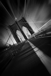Brooklyn Bridge Print, Canvas or Stretched Canvas
