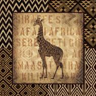 Giraffe African Wild Border