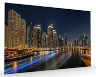 Dubai Marina Stretched Canvas