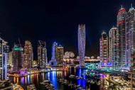 Happy New Year Dubai Print, Canvas or Stretched Canvas
