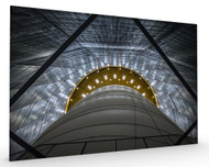 Gasometer Big Air Package Stretched Canvas